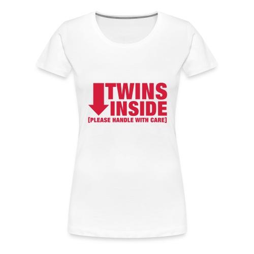 Twins inside - Women's Premium T-Shirt