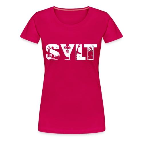 Sylt Shirt - Frauen Premium T-Shirt