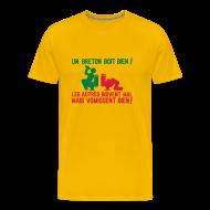Tee shirts ~ T-shirt Premium Homme ~ Un breton boit bien...