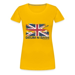 UK DNB Flag - Women's Premium T-Shirt