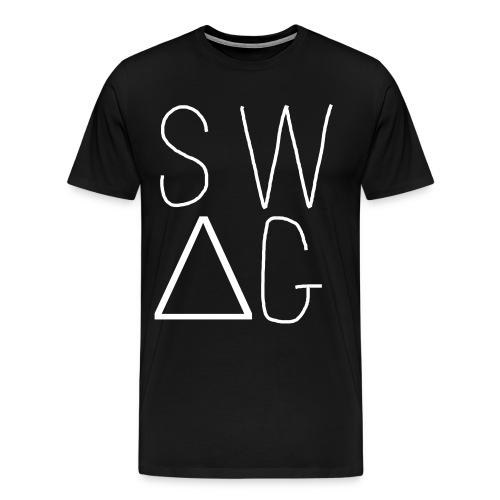 Swag Tee Black - Men's Premium T-Shirt