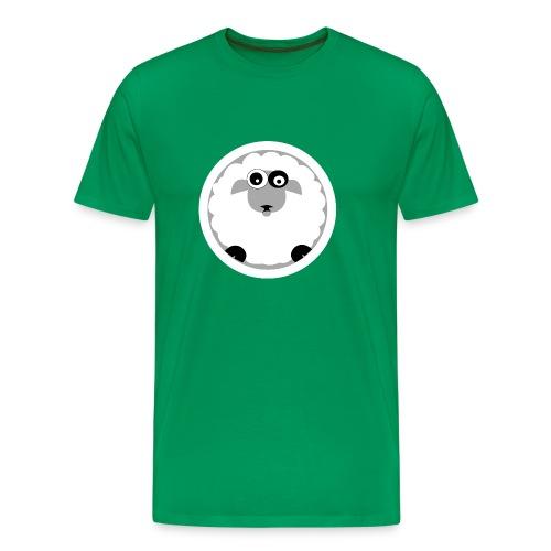 wonky sheep - Men's Premium T-Shirt