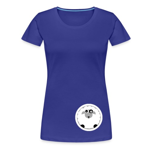 wonky sheep - Women's Premium T-Shirt