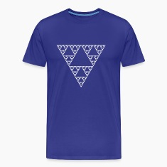 Fractals: Sierpinski Triangle (high detail) T-Shirts