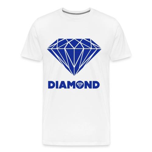 DIAMOND SHIRT - Mannen Premium T-shirt