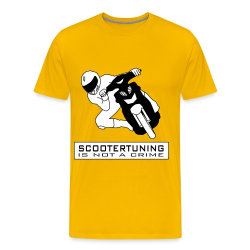 Scootertuning is not a crime II - Männer Premium T-Shirt