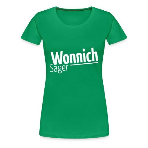 Wonnichsager - Frauen Premium T-Shirt
