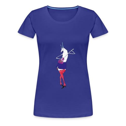 Zicke (w) - Frauen Premium T-Shirt