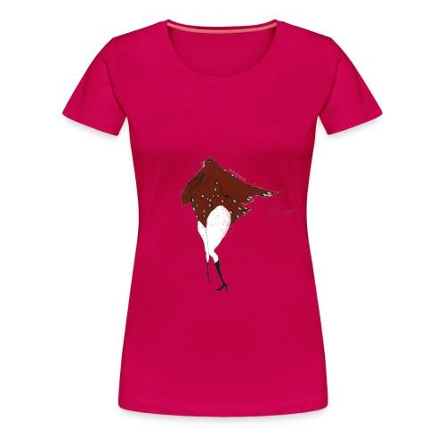 Triangel Trine (w) - Frauen Premium T-Shirt