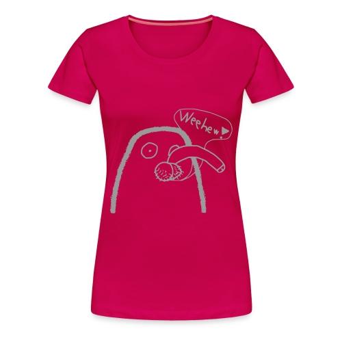 Girlie-Disco-Walross - Frauen Premium T-Shirt
