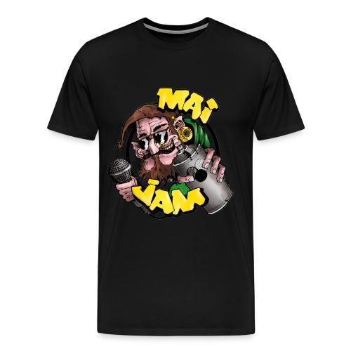 MaiJam Shirt Classic (farb. Logo) - Männer Premium T-Shirt