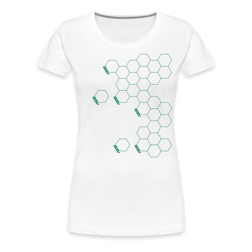 Hex Shoulder - Women's Premium T-Shirt