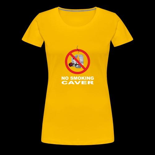 No smoking caver - Maglietta Premium da donna