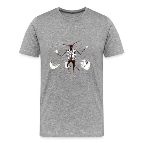 Rasselesel (m) - Männer Premium T-Shirt