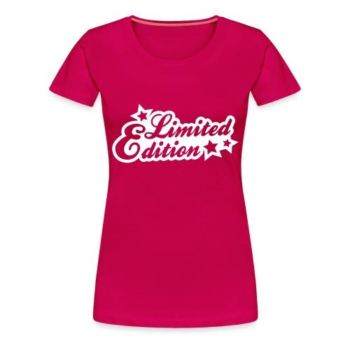LIMITED EDITION (F) - Premium T-skjorte for kvinner