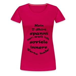 Innere Werte - Frauen Premium T-Shirt