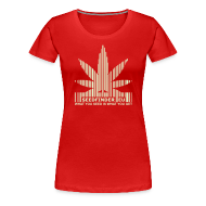 T-Shirts ~ Women's Premium T-Shirt ~ SeedFinder.eu GirlieShirt (Glow in the Dark)