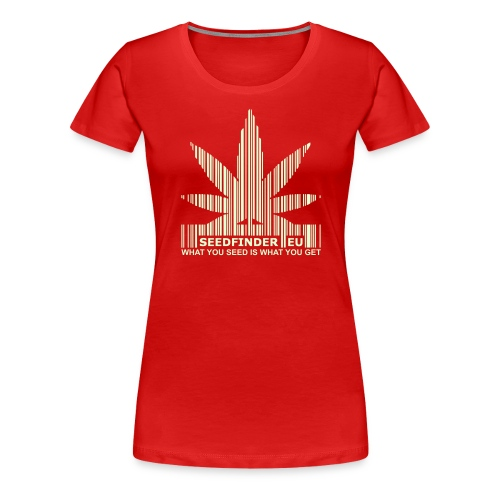 SeedFinder.eu GirlieShirt (Glow in the Dark) - Frauen Premium T-Shirt