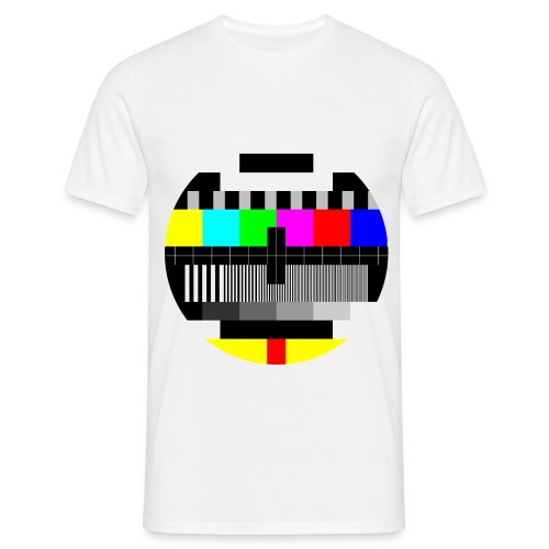 Heren tshirt tekstbeeld - Mannen T-shirt