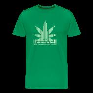 T-Shirts ~ Männer Premium T-Shirt ~ SeedFinder.eu TShirt (Glow in the Dark)