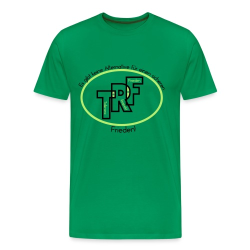 T+R=F grün - Männer Premium T-Shirt