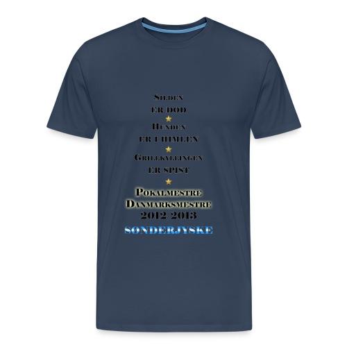 Mesterskabs t-shirt stor str - Men's Premium T-Shirt