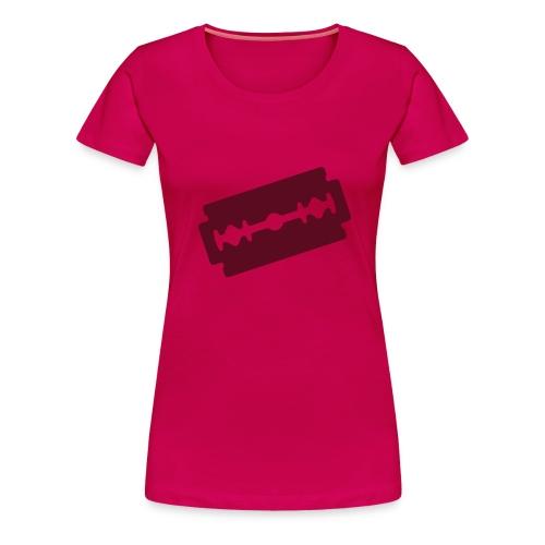 T-shirt Premium Femme - (motif couleur or)