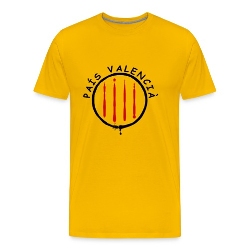 País Valencià - Camiseta premium hombre