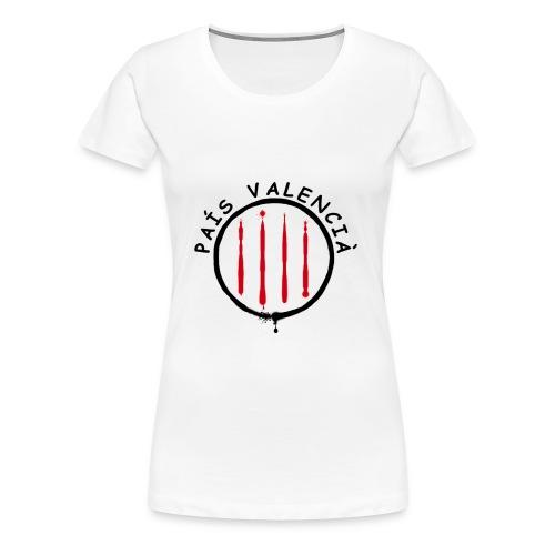 País Valencià - Camiseta premium mujer