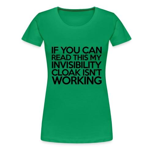som - Dame premium T-shirt
