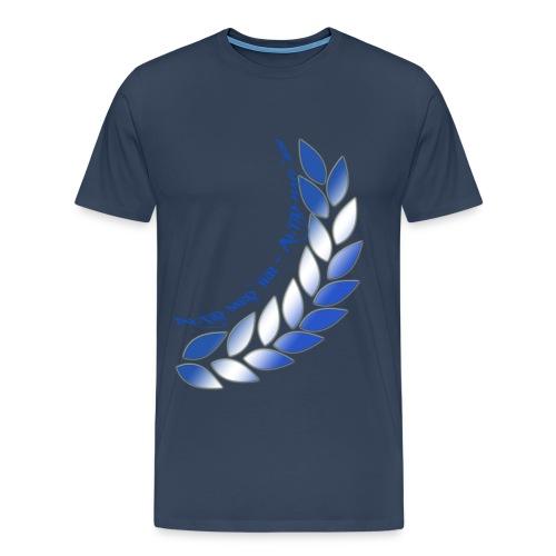 Altid med jer Altid bag jer - Men's Premium T-Shirt