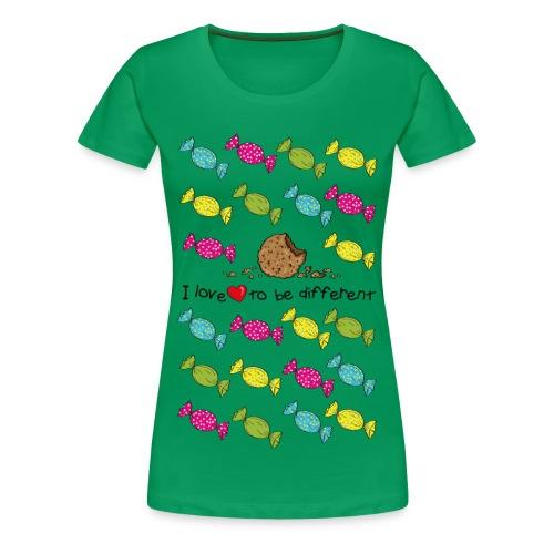 mega - Dame premium T-shirt