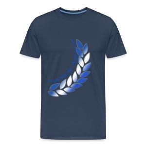 Altid med jer Altid bag jer store str - Men's Premium T-Shirt