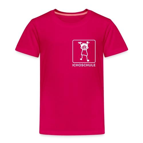 Ichoschule T-Shirt rubinrot - Kinder Premium T-Shirt