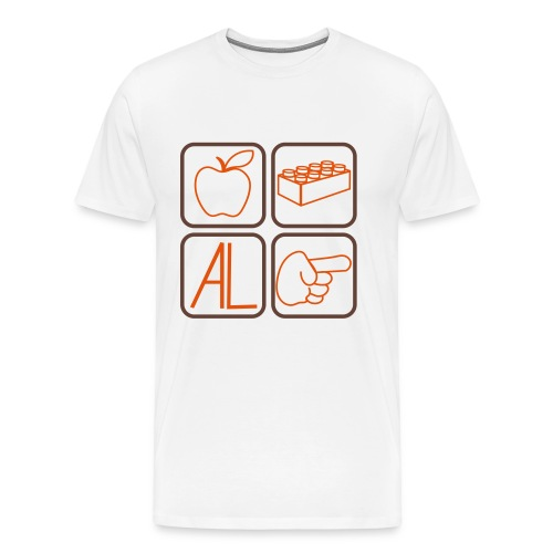 T-Shirt Melalegoaldito bianca - Maglietta Premium da uomo