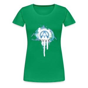 AM Paint Splash Logo - Women's Premium T-Shirt