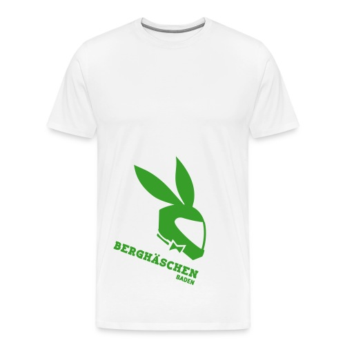 Berghäschen Grün - Männer Premium T-Shirt