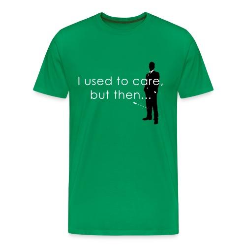 Arrow to the knee T-Shirt / Green - Men's Premium T-Shirt