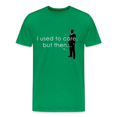 Arrow to the knee T-Shirt / Green - Men's Premium T-Shirt
