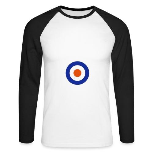 Target Long Sleeve - Men's Long Sleeve Baseball T-Shirt