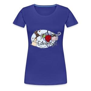 I LOVE Edinburgh - Women's Premium T-Shirt