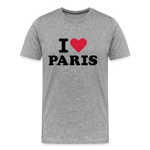 T-Shirt I Love Paris Homme B&C - T-shirt Premium Homme