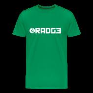 T-Shirts ~ Men's Premium T-Shirt ~ radge on green