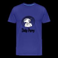 T-Shirts ~ Männer Premium T-Shirt ~ Blue Perry