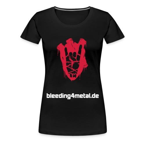 B4M Girlie ohne Rückendruck - Frauen Premium T-Shirt