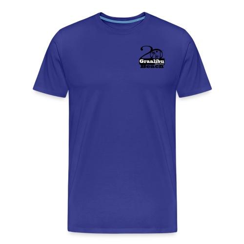 2013_dunkelblau_01 - Männer Premium T-Shirt