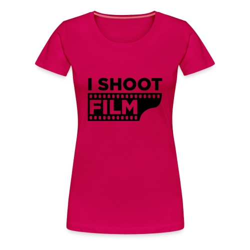 I shoot Film Frauenshirt - Frauen Premium T-Shirt