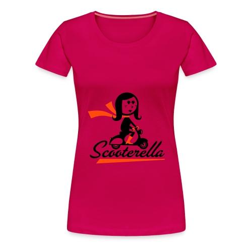 maglietta da donna scooterella - Maglietta Premium da donna