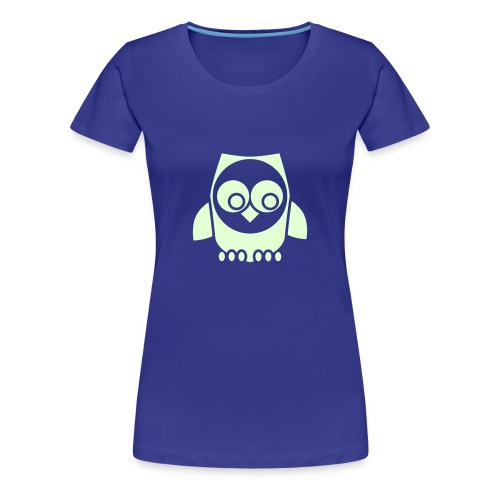 T-shirt owl in the night - Maglietta Premium da donna