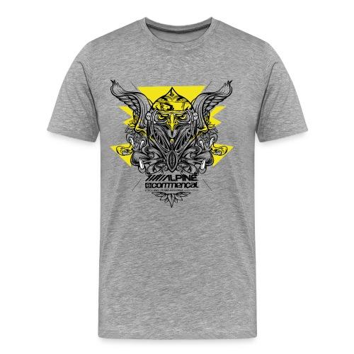 Eagle Shirt - Alpine Commencal -  GREY - Männer Premium T-Shirt